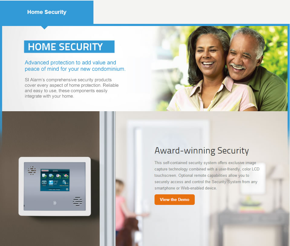 Automated home security from SI Alarms into your home automation control system, allowing for secure and protect your family, loved ones, and full peace of mind.